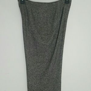 Liz Claiborne black silk wool blend pant 10